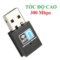 USB Wifi,usb thu wifi PC tốc độ cao 300Mb