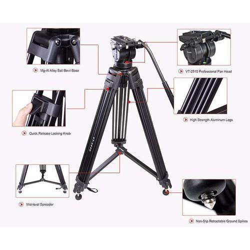Chân máy quay kingjoy vt-2500 - 12588913 , 20422954 , 15_20422954 , 2620000 , Chan-may-quay-kingjoy-vt-2500-15_20422954 , sendo.vn , Chân máy quay kingjoy vt-2500