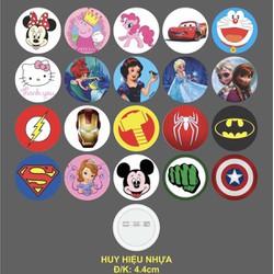 Huy Hiệu siêu nhân và công chúa 20 mẫu