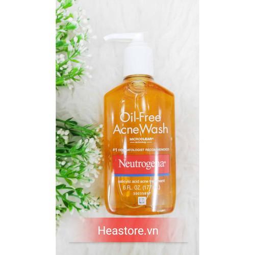 Sữa rửa mặt trị mụn neutrogena oil-free - 177ml - 12579822 , 20410117 , 15_20410117 , 230000 , Sua-rua-mat-tri-mun-neutrogena-oil-free-177ml-15_20410117 , sendo.vn , Sữa rửa mặt trị mụn neutrogena oil-free - 177ml