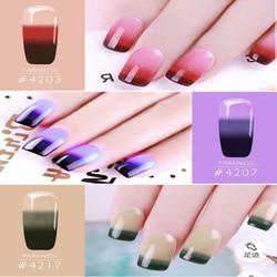 sơn móng gel thay đổi màu theo nhiệt độ-Sơn móng gel