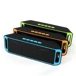 Loa bluetooth mini giá rẻ Sc 208 loa nghe nhạc âm thanh hay không kém loa thùng - loa mini - sc -208 bền bỉ thumbnail
