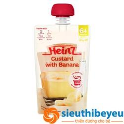 Váng sữa Heinz vị chuối 6m+