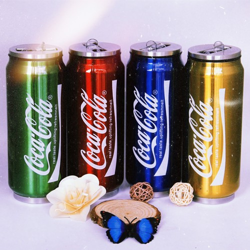 BÌNH GIỮ NHIỆT 500ML STYLE COCACOLA