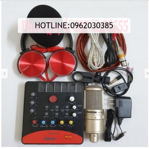 Bộ combo mic livestream hát karaoke online micro takstar pc-k200 card icon upod.pro dây live ma2 tặng tai nghe 450 - 12581881 , 20412740 , 15_20412740 , 3000000 , Bo-combo-mic-livestream-hat-karaoke-online-micro-takstar-pc-k200-card-icon-upod.pro-day-live-ma2-tang-tai-nghe-450-15_20412740 , sendo.vn , Bộ combo mic livestream hát karaoke online micro takstar pc-k200