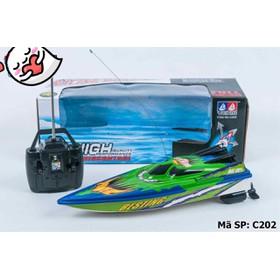 Đồ chơi cano điều khiển chạy trên nước  - C202