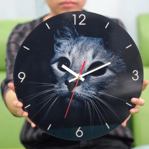 Đồng hồ MÈO treo tường decor SB106 mẫu mới