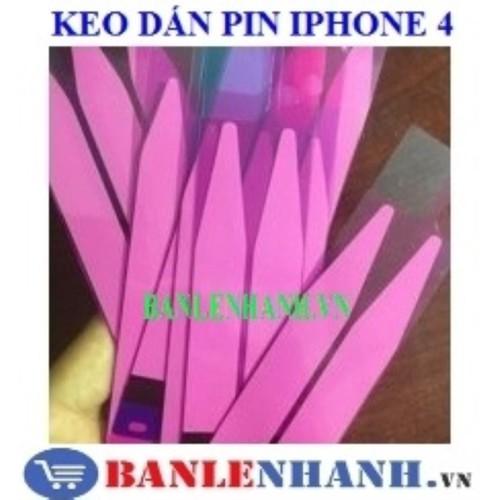 Keo dán pin iphone 4