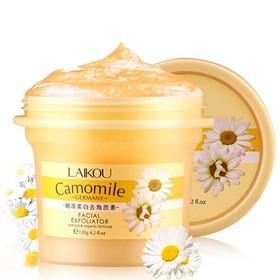 Gel tẩy da chết Laikou Camomile hoa cúc 120g - BP46