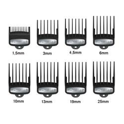 Bộ cữ tông đơ WAHL chính hãng 8 chiếc gá thép Độ Dài Từ 1,5mm đến 25mm đáp ứng đầy đủ các nhu cầu của thợ tóc