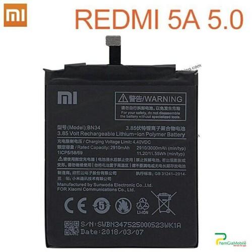PIN XIAOMI REDMI 5A BN34 - 11685096 , 20646354 , 15_20646354 , 124000 , PIN-XIAOMI-REDMI-5A-BN34-15_20646354 , sendo.vn , PIN XIAOMI REDMI 5A BN34