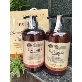 Bộ Dầu gội và dầu xả Mefaso colagen - Ý - D28
