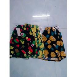 [NHẬP SD189D GIẢM 20K ] Set quần áo trẻ em in hình quả dứa dành cho bé gái 1-5 tuổi. Chất liệu mềm mại, co dãn tốt