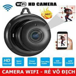 [RẺ VÔ ĐỊCH] Camera IP WIFI phần mềm V380 treo tường
