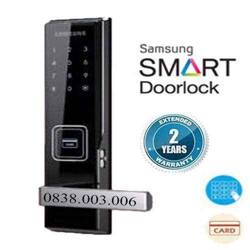 Khóa cửa điện tử samsung shs-h505 - shs-h505