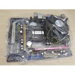 Combo main Foxcon G31 + CPU E5300 + Ram 4Gb + Quạt