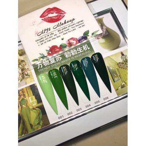 [Sale off] sơn gel as   set sơn gel xanh lá cây 6 màu giá lẻ 1 chai - 12748166 , 20651202 , 15_20651202 , 31990 , Sale-off-son-gel-as-set-son-gel-xanh-la-cay-6-mau-gia-le-1-chai-15_20651202 , sendo.vn , [Sale off] sơn gel as   set sơn gel xanh lá cây 6 màu giá lẻ 1 chai