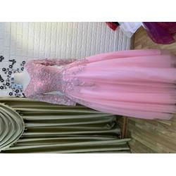 áo cưới hồng size to big size