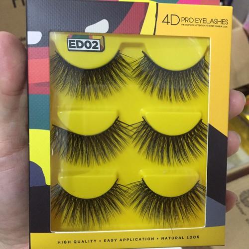 Lông mi giả 4d vacosi pro eyelash ed02
