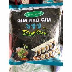 rong biển hàn quốc - rong gim bab gim cuốn sushi 2 gói
