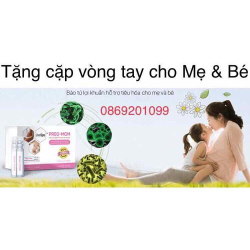 Combo 2 hộp pregmom - bào tử lợi khuẩn thế hệ mới - tặng kèm bộ vòng tay mẹ và bé - 12743775 , 20644896 , 15_20644896 , 920000 , Combo-2-hop-pregmom-bao-tu-loi-khuan-the-he-moi-tang-kem-bo-vong-tay-me-va-be-15_20644896 , sendo.vn , Combo 2 hộp pregmom - bào tử lợi khuẩn thế hệ mới - tặng kèm bộ vòng tay mẹ và bé
