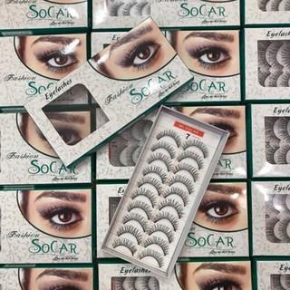 Lông mi giả mềm mượt Eyelashes Fashion - Dày mi 07 - n936 thumbnail