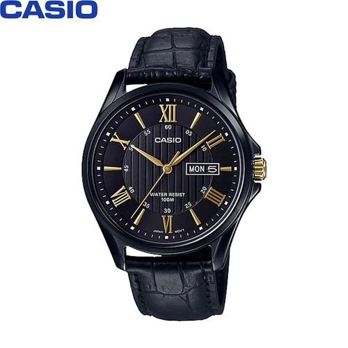 Đồng hồ CASIO nam -  Dây Da - Đen - MTP-1384BL-1AVDF - 11368828 , 20655152 , 15_20655152 , 2303000 , Dong-ho-CASIO-nam-Day-Da-Den-MTP-1384BL-1AVDF-15_20655152 , sendo.vn , Đồng hồ CASIO nam -  Dây Da - Đen - MTP-1384BL-1AVDF