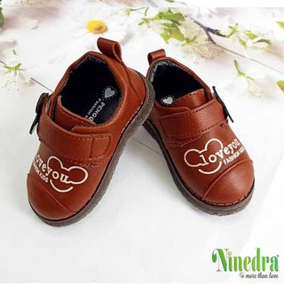 Giày tập đi cho bé trai cực cute - Ninedra - TDT1002 thumbnail