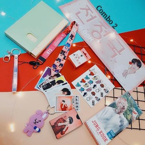 Combo đồ bts jung kook 2019 bộ sưu tập 9 món bts persona