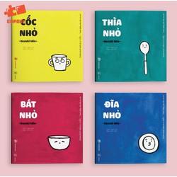 Combo Ehon Đồ Vật Quanh Bé - Ehon Nhật Bản - Bộ 4 cuốn