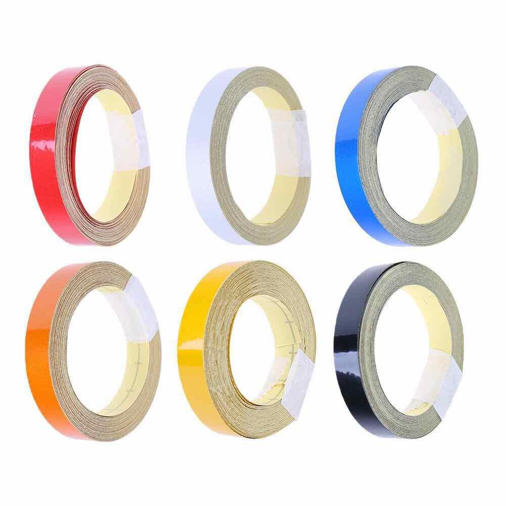 Băng dính dán vành đủ màu - băng dính phản quang chống nước
