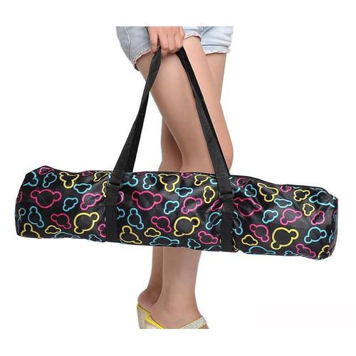 Túi đựng thảm yoga cao cấp hình họa tiết