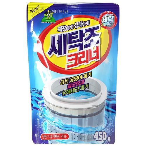Gói bột tẩy vệ sinh lồng máy giặt sandokkaebi 450ml hàn quốc - 12770455 , 20684400 , 15_20684400 , 28500 , Goi-bot-tay-ve-sinh-long-may-giat-sandokkaebi-450ml-han-quoc-15_20684400 , sendo.vn , Gói bột tẩy vệ sinh lồng máy giặt sandokkaebi 450ml hàn quốc