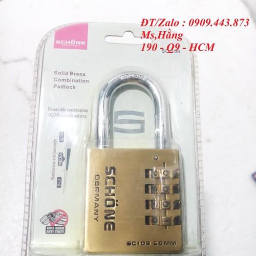 Ổ khóa số schone sc-109 50mm - kc310