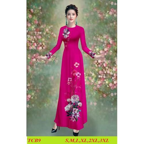 Nguyên bộ áo dài truyền thống lụa tằm ý may sẵn đủ size áo +quần - 12770606 , 20684567 , 15_20684567 , 490000 , Nguyen-bo-ao-dai-truyen-thong-lua-tam-y-may-san-du-size-ao-quan-15_20684567 , sendo.vn , Nguyên bộ áo dài truyền thống lụa tằm ý may sẵn đủ size áo +quần