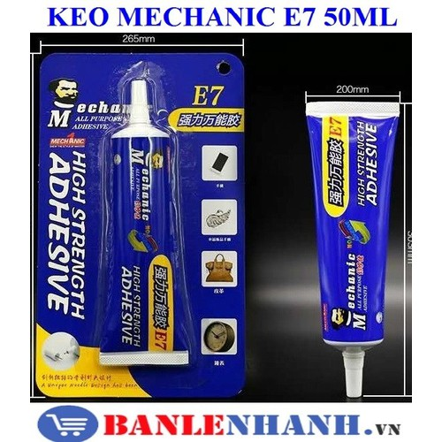 Keo mechanic e7 50ml - 12764614 , 20675676 , 15_20675676 , 69000 , Keo-mechanic-e7-50ml-15_20675676 , sendo.vn , Keo mechanic e7 50ml