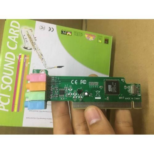 Card âm thanh pci 4.1 | card chuyển đổi pci to sound 4.1