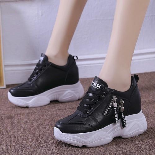Giày thể thao đế độn 8cm