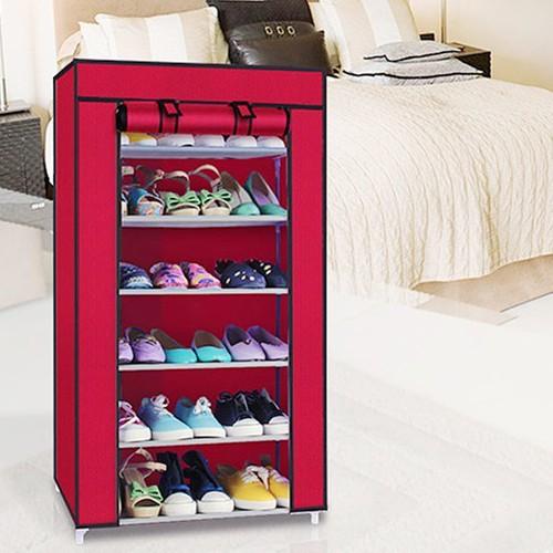 [Sốc siêu sale] tủ giày 6 tầng giao màu ngẫu nhiên