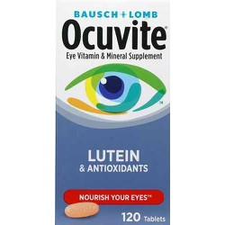 Viên uống bổ mắt Occuvite Lutein Antioxidant 120 viên hàng nhập Mỹ