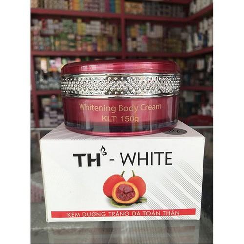 Kem dưỡng trắng da toàn thân chống nắng th white spf50 150g