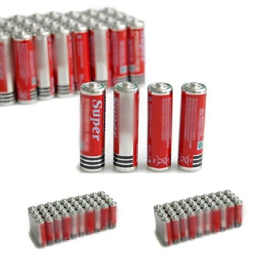 Pin aaa tem bạc 1 hộp 40v pin nhỏ