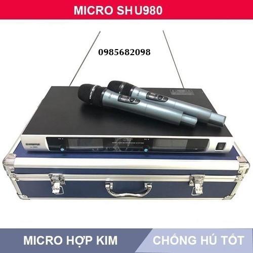 Micro không dây bs u980 - 12764500 , 20675542 , 15_20675542 , 1530000 , Micro-khong-day-bs-u980-15_20675542 , sendo.vn , Micro không dây bs u980