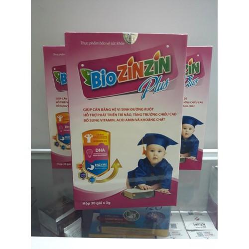 Bio zinzin plus: sản phẩm bổ sung dưỡng chất cho bé