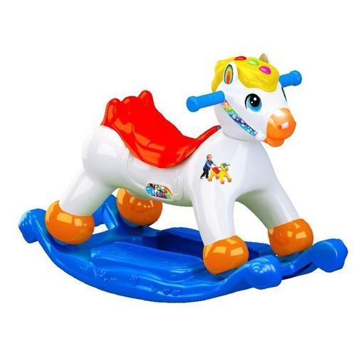 Xe bập bênh cho bé - bập bênh con ngựa -nhựa chợ lớn việt nam