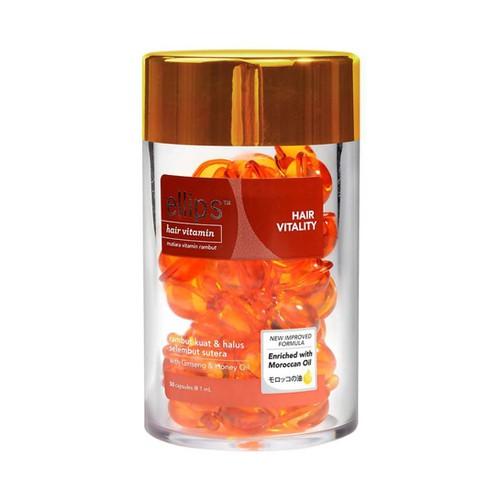 Viên vitamin dưỡng tóc ellips #cam phục hồi tóc hư tổn hộp 50v