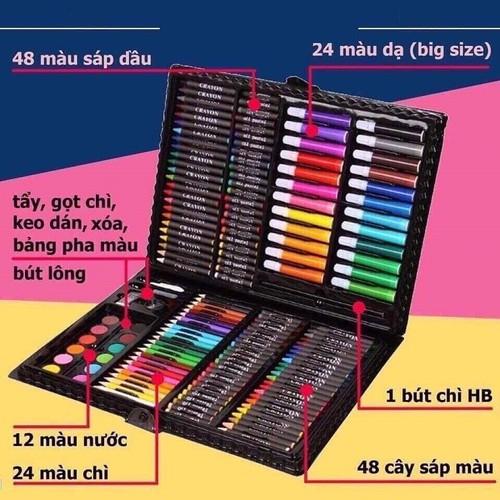 Hộp bút tô màu - hộp bút tô màu 150 chi tiết