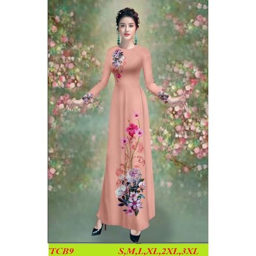 Nguyên bộ áo dài truyền thống lụa tằm ý may sẵn đủ size áo +quần - 12771333 , 20685568 , 15_20685568 , 490000 , Nguyen-bo-ao-dai-truyen-thong-lua-tam-y-may-san-du-size-ao-quan-15_20685568 , sendo.vn , Nguyên bộ áo dài truyền thống lụa tằm ý may sẵn đủ size áo +quần