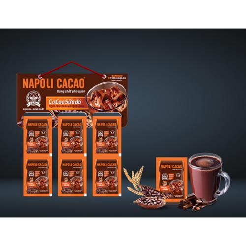 Cacao hòa tan napoli 6in1 - dây 10 gói - 20679921 , 23638461 , 15_23638461 , 53000 , Cacao-hoa-tan-napoli-6in1-day-10-goi-15_23638461 , sendo.vn , Cacao hòa tan napoli 6in1 - dây 10 gói
