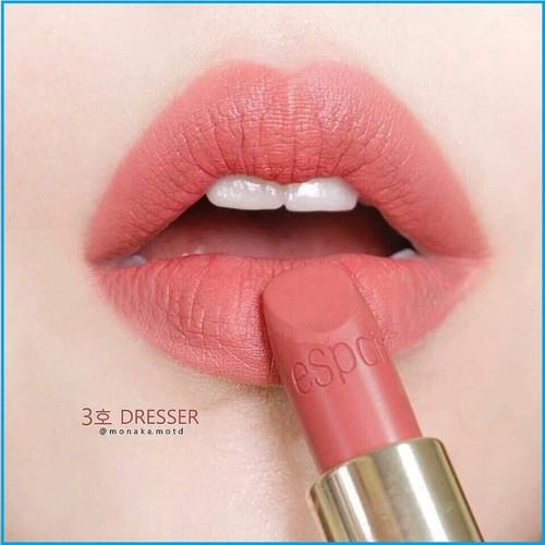 Son espoir nowear lipstick power màu cr505 memento cam đất